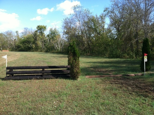 Fence 12 - Ditch/Rail Option