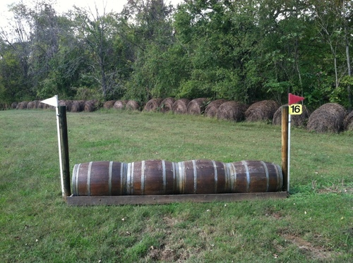 """Fence 16 - """"Rodger's Ford Winery"""" Barrels"""