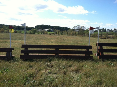 """Fence 3 - """"Gold Cup"""" Steeplechase"""