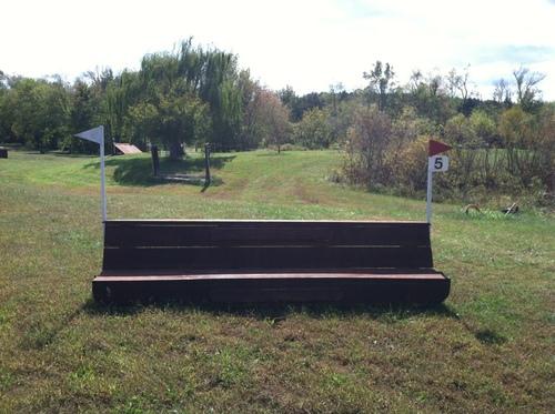 "Fence 5 - ""Manahoac Indian"" Seat"
