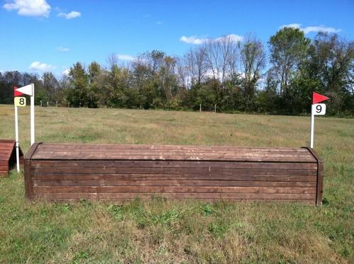"""Fence 9 - """"Confederate"""" Cabin"""