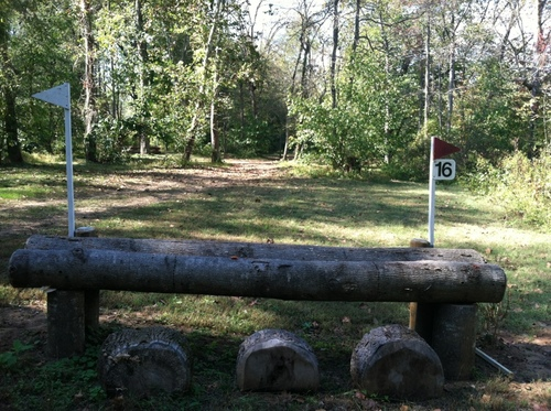 """Fence 16 - """"Kelly's Ford Inn"""" the Woods Oxer"""