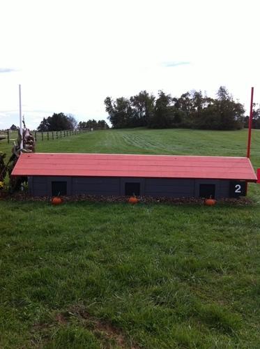 Fence 2 - Orange Roof Cabin