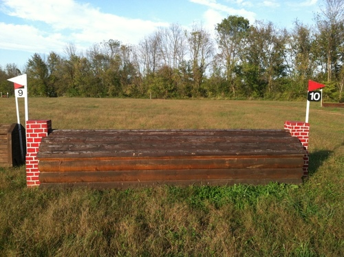 "Fence 10 - ""Groves Hardware"" Log Cabin"