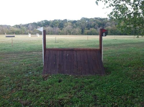 Fence 11B - Skinny Ramp