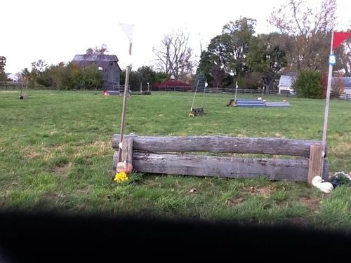Fence 8 - Adjustable log