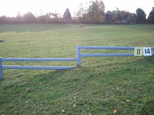Hindernis 11 - Fence