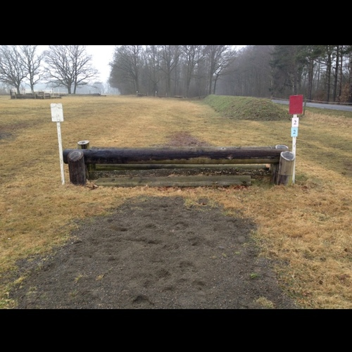Fence 2 - Oxer