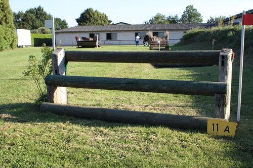 Fence 11A - Coffin - Einsprung