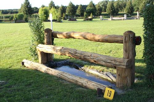 Fence 19 - Rick im Graben