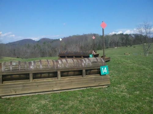 Fence 14 - Barrels