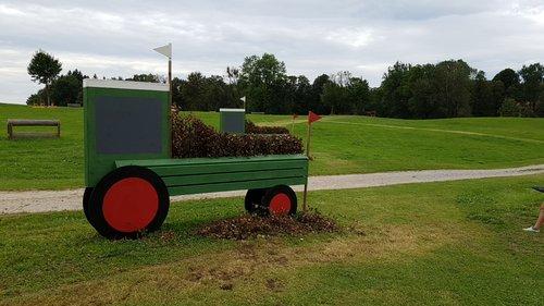 Obstacle 5A - Planterra Traktoren