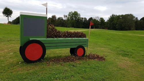 Obstacle 5B - Planterra Traktoren