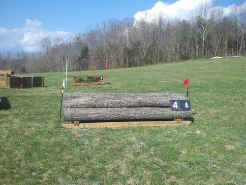 Obstacle 4A - Stacked Logs
