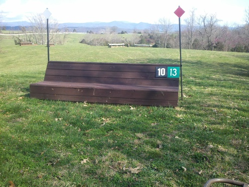 Obstacle 10 - Big Bench