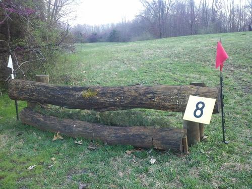 Fence 8 - Olde Log