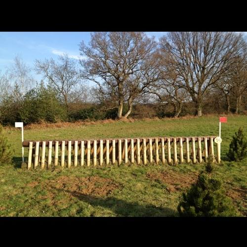 Fence 16 - 10 human strides on curve