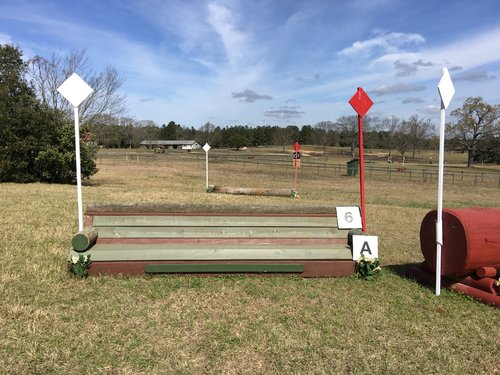 Fence 6A - Bench to Log Jump