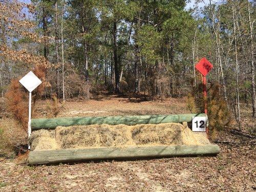 Fence 12 - Hay Logs