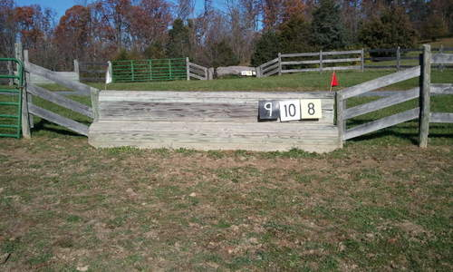 Obstacle 8 - Bench