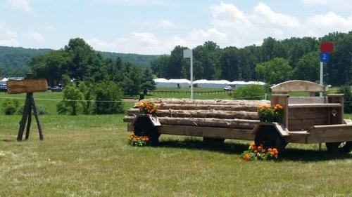 Hindernis 2 - DOCs Rusty Spokes Timber Haulin