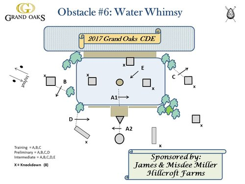 Obstacle 6 - Water Whimsy