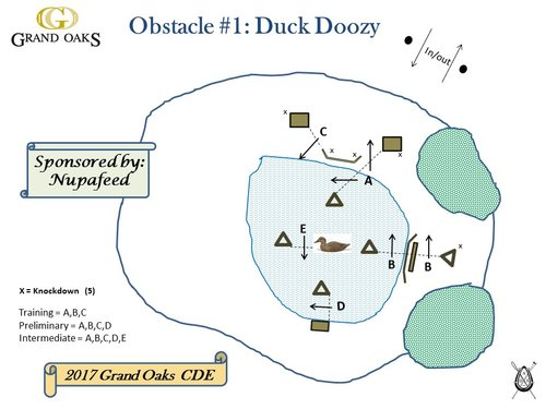 Obstacle 1 - Duck Doozy