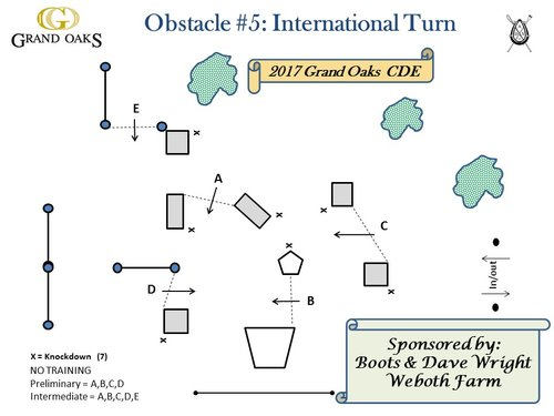 Obstacle 5 - International Turn