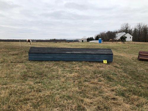 Fence 3 - Blue barn
