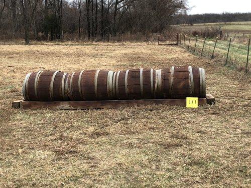 Fence 10 - Barrrels