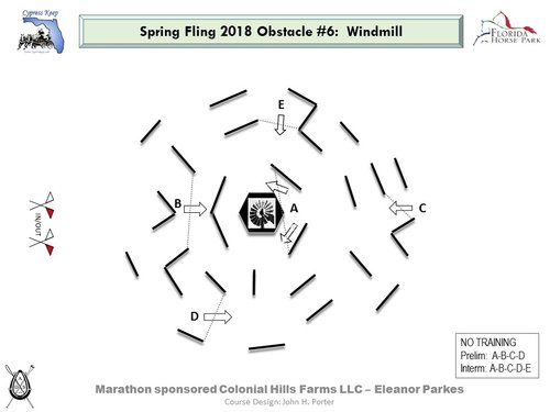 Obstacle 6 - Windmill