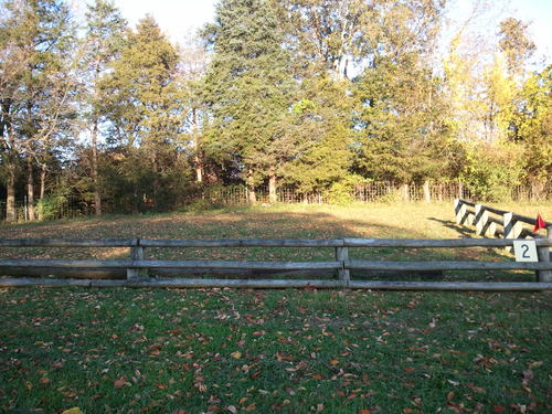 Hindernis 2 - Fence