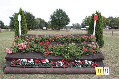 Fence 17 - Blumentisch