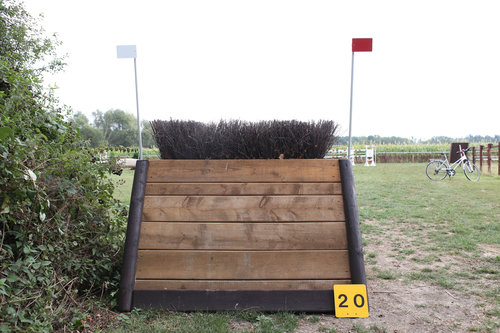 Fence 20 - Schmale Hecke