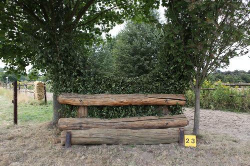 Fence 23 - Hecke unter'm Baum