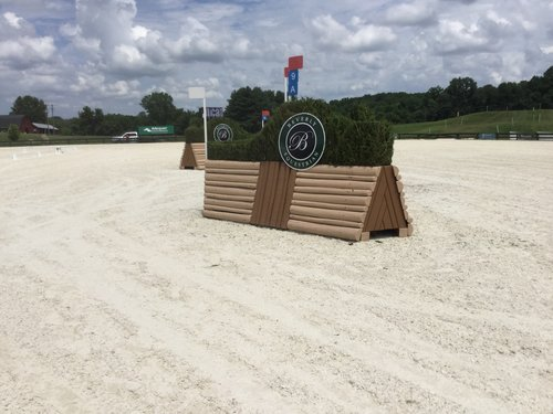 Fence 9A - Beverly Equestrian Brush Corners
