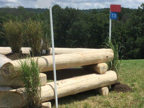 Obstacle 13 - Log Corner