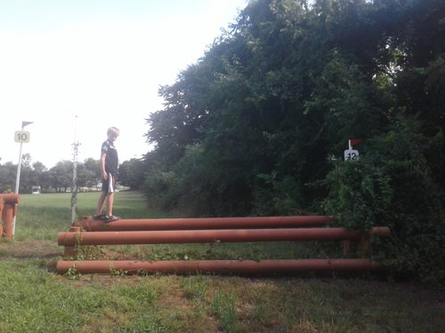 Fence 12 - Oxer
