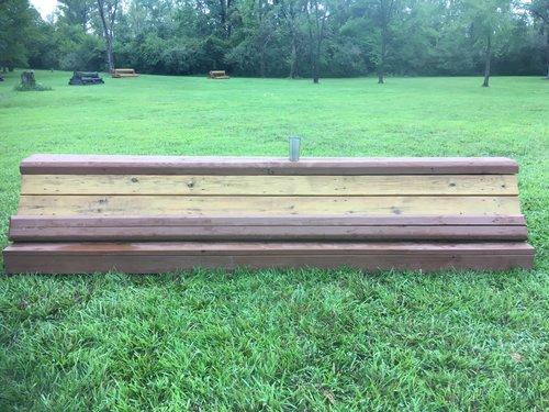 Obstacle 3 - Flutie Coop- timber added