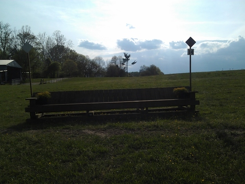 Obstacle 14 - Bench