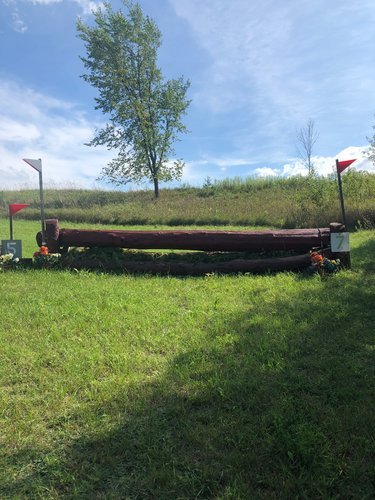 Fence 7 - Red Log Up