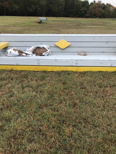 Fence 8 - Grey Bench