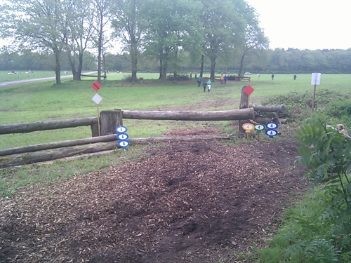 Obstacle 4 - Trakehner-arm