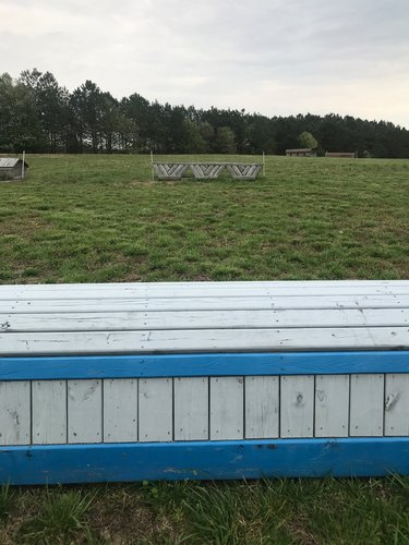Fence 9A - Blue Roll Roll