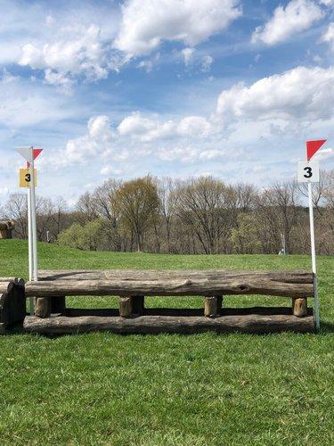 Fence 3 - Log roll