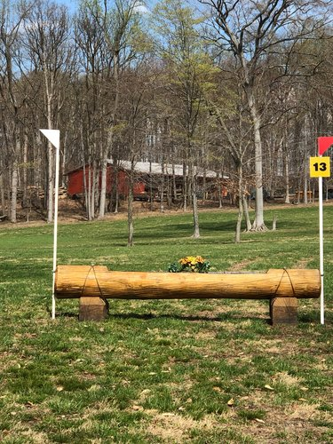 Fence 13 - Planter log