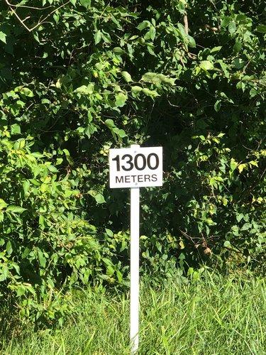 Fence 13 - 1300 meters