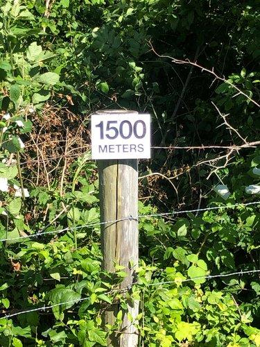 Fence 15 - 1500 meters