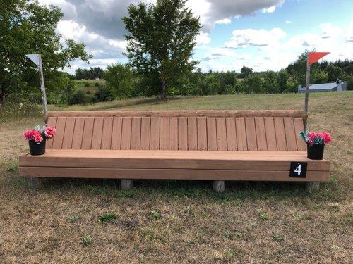 Fence 4 - Bench