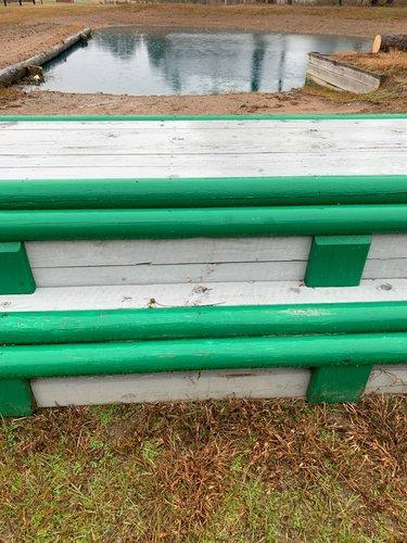 Fence 12 - Grey Bench